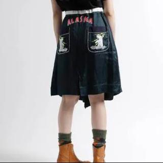 ファセッタズム(FACETASM)のfacetasm Alaska (アラスカ)スカート(ひざ丈スカート)