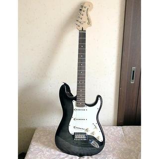 ギター スクワイア限定カラー 美品 フェンダー 小物付き(エレキギター)