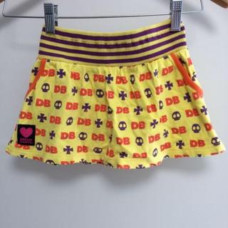 ベビードール(BABYDOLL)のキッズ BABY DOLL スカル スカート 110(スカート)