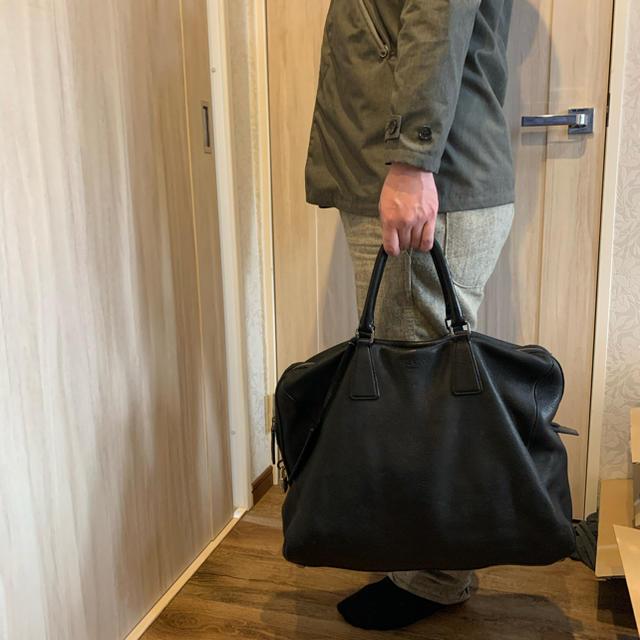 PRADA(プラダ)のプラダ レザーボストンバック 正規オーダー品 レディースのバッグ(ボストンバッグ)の商品写真