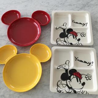 Francfranc - ディズニー ワンプレート 皿 4枚セット