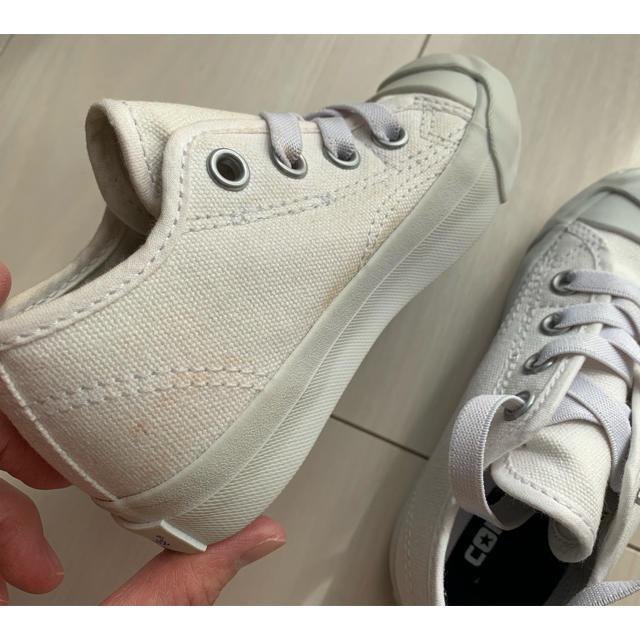 CONVERSE(コンバース)の新品未使用 ジャックパーセル  15cm キッズ/ベビー/マタニティのキッズ靴/シューズ(15cm~)(スニーカー)の商品写真
