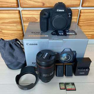 Canon - Canon EOS 5D MARK4 EF24-105L IS2 USM Kit