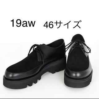 ラッドミュージシャン(LAD MUSICIAN)のU-TIP SHOES 19aw 新品 46サイズ(ドレス/ビジネス)