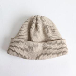 コモリ(COMOLI)のcrepuscule(クレプスキュール)Knit cap ニットキャップ(ニット帽/ビーニー)