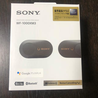 SONY - SONY SONY WF-1000XM3 ワイヤレスイヤホン