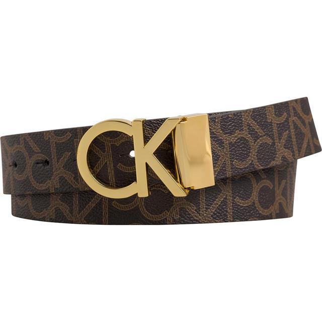 Calvin Klein(カルバンクライン)の数量限定!Calvin klein カルバンクライン  ベルト ブラウン90cm メンズのファッション小物(ベルト)の商品写真