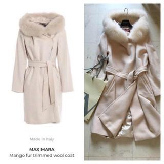 マックスマーラ(Max Mara)のMax Mara mango ファーコート(毛皮/ファーコート)