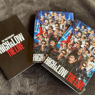 エグザイル トライブ(EXILE TRIBE)のHIGH&LOW THE LIVE DVD 初回限定版(ミュージック)
