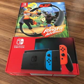 Nintendo Switch - 任天堂 Switch & リングフィットアドベンチャー