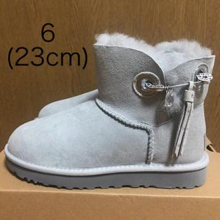 アグ(UGG)のUGG アグ ブーツ ムートンブーツ スワロフスキー レディース 23cm(ブーツ)