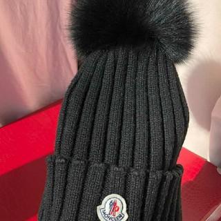 MONCLER - 新品 Moncler ニット帽 ブラック