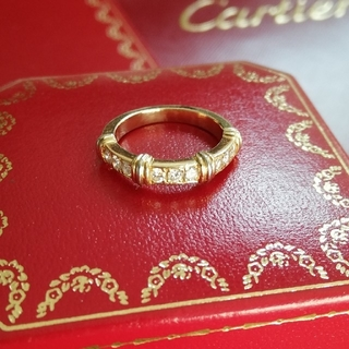Cartier - 美品 カルティエ cartier コンテッサ ハーフダイヤリング 9号 #49