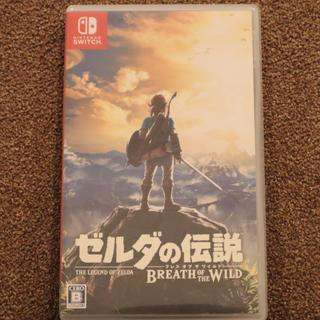 ニンテンドウ(任天堂)のゼルダの伝説 ブレスオブザワイルド Switch(家庭用ゲームソフト)