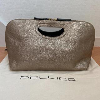 PELLICO - PELLICOペリーコ  バッグ BLACK/GOLD