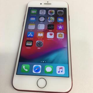 アップル(Apple)のiPhone 7 Red 128 GB Softbank(スマートフォン本体)