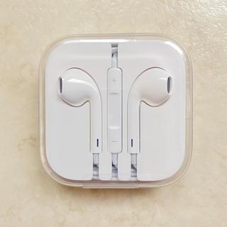 Apple - iPhone イヤフォン(Apple社 純正品 イヤホン)