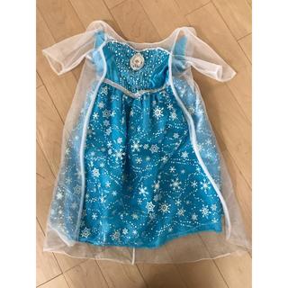 アナトユキノジョオウ(アナと雪の女王)のエルサ ドレス 100〜110(衣装)