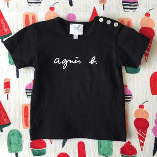 agnes b. - アニエス・ベー ロゴTシャツ♡*゜