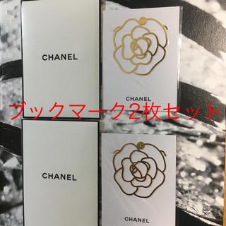 CHANEL - 非売品 CHANEL ブックマーク 2枚セット