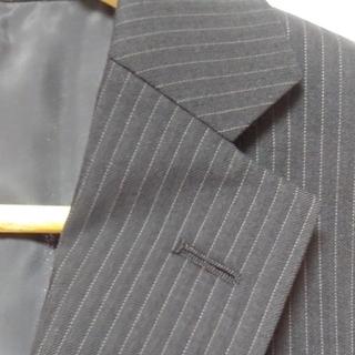 AOKI - 新品タグ付 メンズスーツ グレー A5 裾上げテープ付