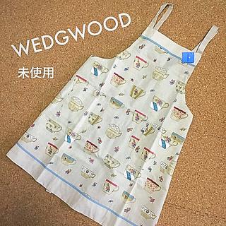 ウェッジウッド(WEDGWOOD)のウェッジウッド  WEDGEWOOD ドレスエプロン 未使用タグ付き 日本製(その他)