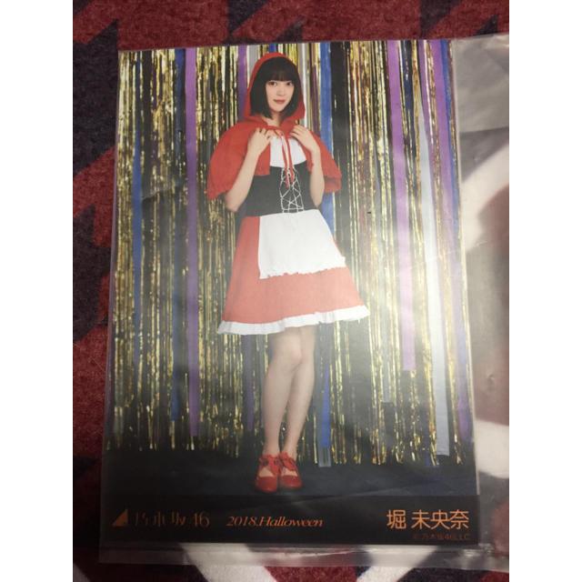 乃木坂46(ノギザカフォーティーシックス)の堀未央奈生写真 エンタメ/ホビーのタレントグッズ(アイドルグッズ)の商品写真