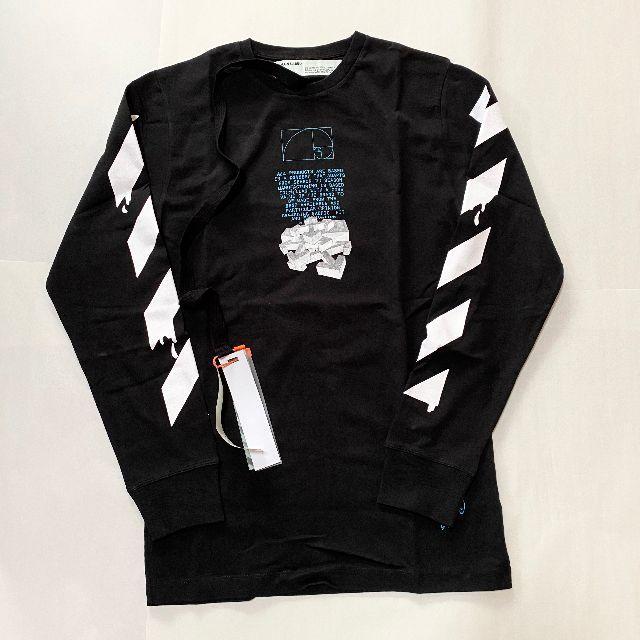 OFF-WHITE(オフホワイト)の新品未使用!送料込み★Off-White★ドリッピングアローTシャツ メンズのトップス(Tシャツ/カットソー(七分/長袖))の商品写真