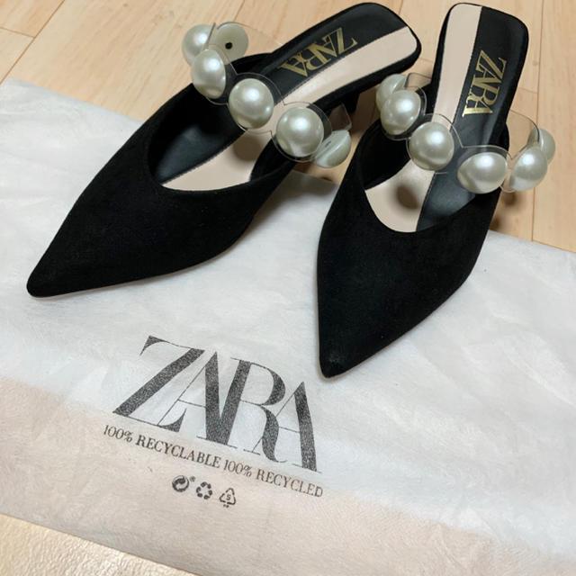 ZARA(ザラ)の★美品★ ZARA パンプス パーティー 結婚式 レディースの靴/シューズ(ハイヒール/パンプス)の商品写真