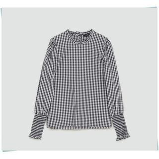 ザラ(ZARA)のZARA ギンガムチェックシャツ(シャツ/ブラウス(長袖/七分))
