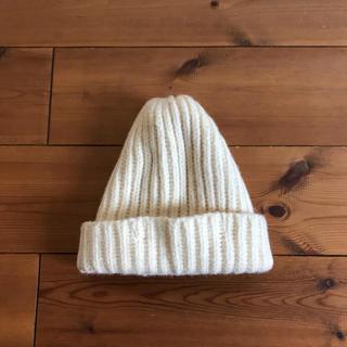 ネストローブ(nest Robe)のハイランド2000 ニット帽 オフホワイト(ニット帽/ビーニー)