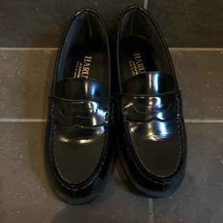 ハルタ(HARUTA)のHARUTA ロープが 黒(ローファー/革靴)