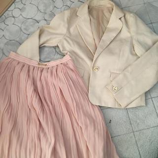 ハニーズ(HONEYS)の入学式卒業式ジャケットスカートセット(スーツ)