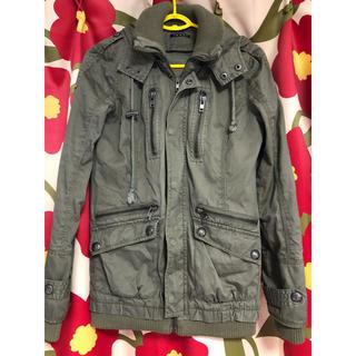 INGNI - ミニタリージャケット ミリタリージャケット レディース イング 袖リブ 裾リブ