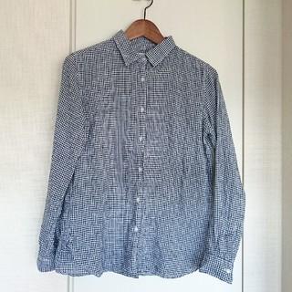 ユニクロ(UNIQLO)の美品☆毎年人気のUNIQLOリネンシャツ(シャツ/ブラウス(長袖/七分))