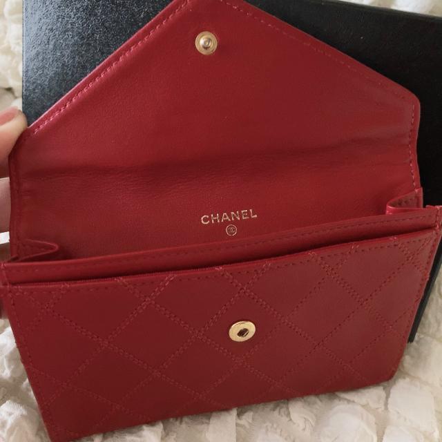 CHANEL(シャネル)のシャネル❤ビンテージ ビコローレ マトラッセ 中 財布 ほぼ未使用! レディースのファッション小物(財布)の商品写真