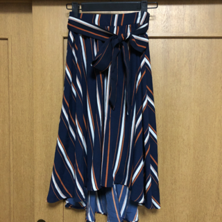 one*way - ウエストリボンスカート