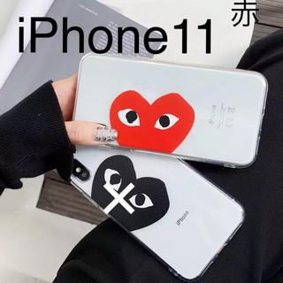 コムデギャルソン(COMME des GARCONS)のシンプル ハート iPhoneケース(iPhoneケース)