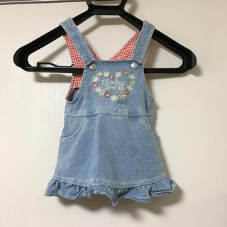 Shirley Temple - SHIRLEYTEMPLE デニムジャンバースカート