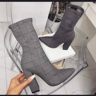 チェックブーツ(ブーツ)