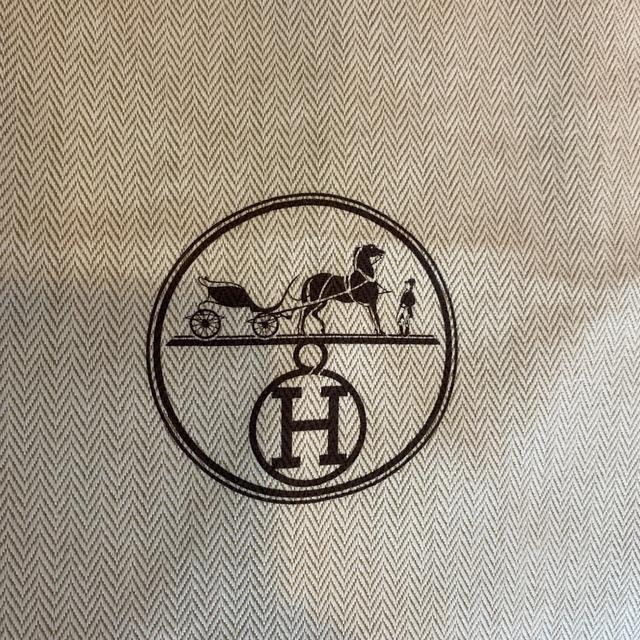Hermes(エルメス)のエルメス バーキン30 空箱 バーキン特大紙袋 2枚 レディースのバッグ(ショップ袋)の商品写真