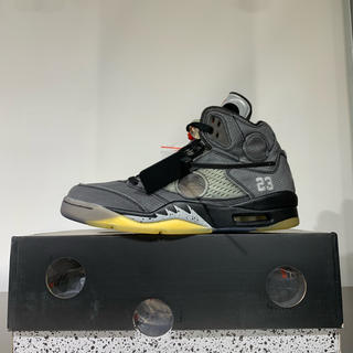 OFF-WHITE - snkrs購入 新品未使用 off-white air jordan 5