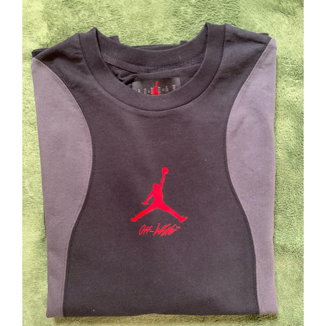 OFF-WHITE(オフホワイト)のoff white✖️jordan メンズのトップス(Tシャツ/カットソー(半袖/袖なし))の商品写真