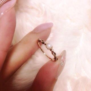 ジュピターゴールドレーベル(jupiter GOLD LABEL)のjupiter♡限定パールリング(リング(指輪))