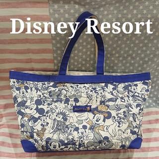 Disney - ディズニーリゾート 30周年 大容量 バッグ ミッキー ヒストリートート 金コス