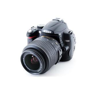 ニコン(Nikon)の★動画も撮れる♪Wi-Fiカード付き★一眼レフカメラ Nikon D5000(デジタル一眼)