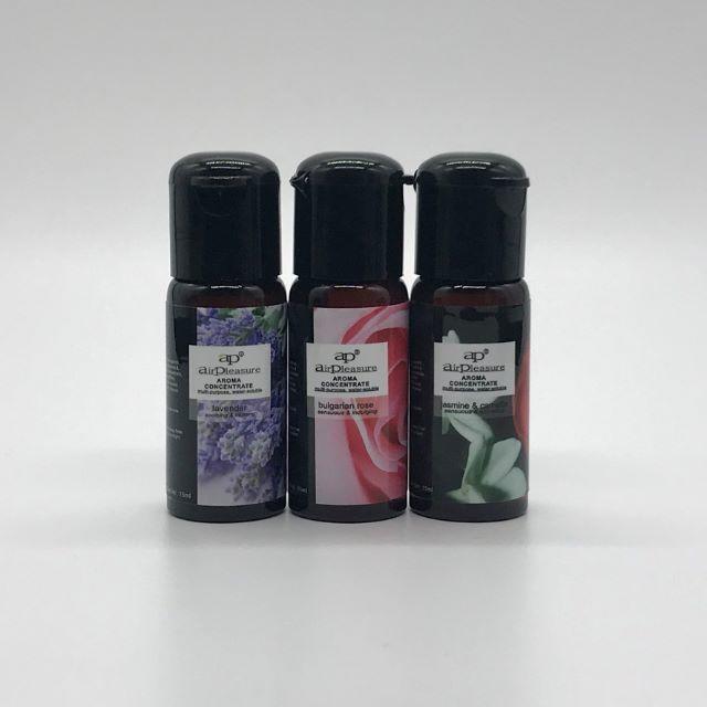 水溶性アロマオイル 15ml×3本セット ラベンダー/ローズ/ジャスミン コスメ/美容のリラクゼーション(アロマオイル)の商品写真