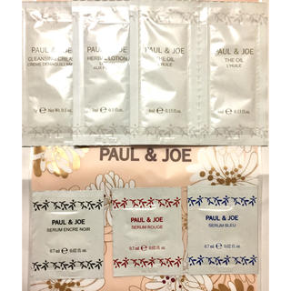 ポールアンドジョー(PAUL & JOE)の【新品】❤︎ ポールアンドジョー クレンジングクリーム 化粧水 オイル 美容液(美容液)