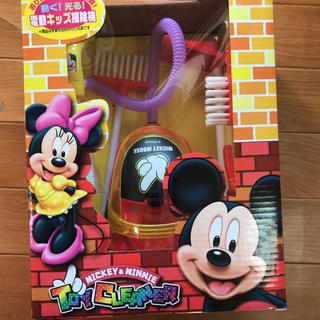 ミッキーマウス(ミッキーマウス)の動く!光る!電動キッズ掃除機 ミッキーマウス(キャラクターグッズ)
