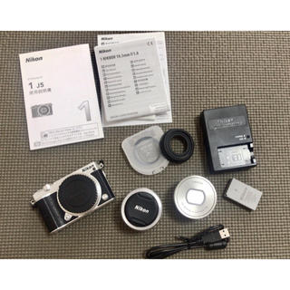 Nikon - Nikon 1 J5 ダブルレンズキット